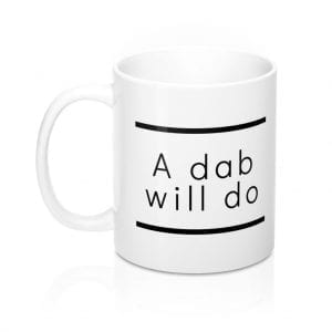 Ken Ahbus - A Dab Will Do mug