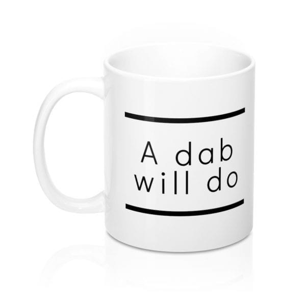 Ken Ahbus - A Dab Will Do mug