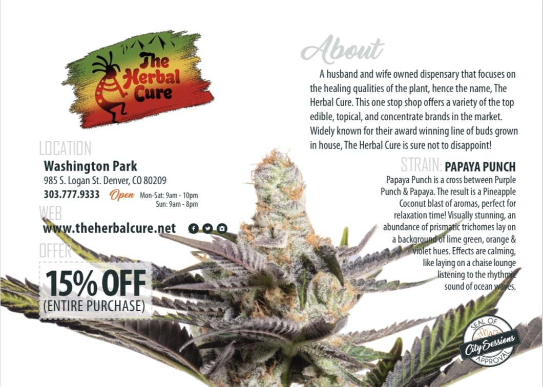 The Herbal Cure 15% off coupon