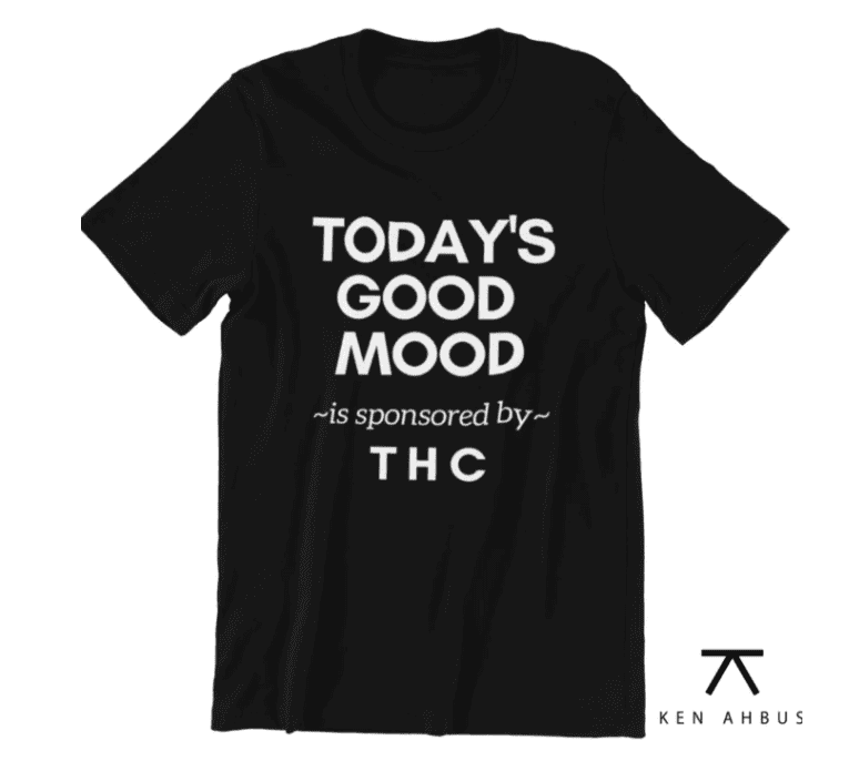 Good Mood THC Shirt